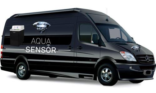 Aqua Sensor waterontkalker voor thuis in Dikkelvenne