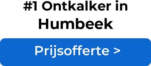 Ontkalkers in Humbeek