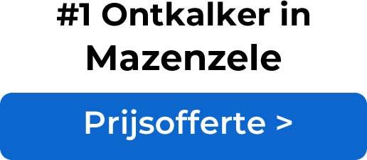 Ontkalkers in Mazenzele