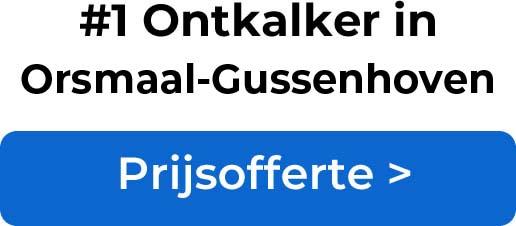 Ontkalkers in Orsmaal-Gussenhoven