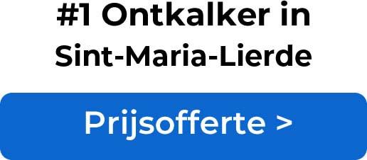 Ontkalkers in Sint-Maria-Lierde