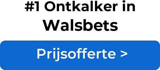Ontkalkers in Walsbets