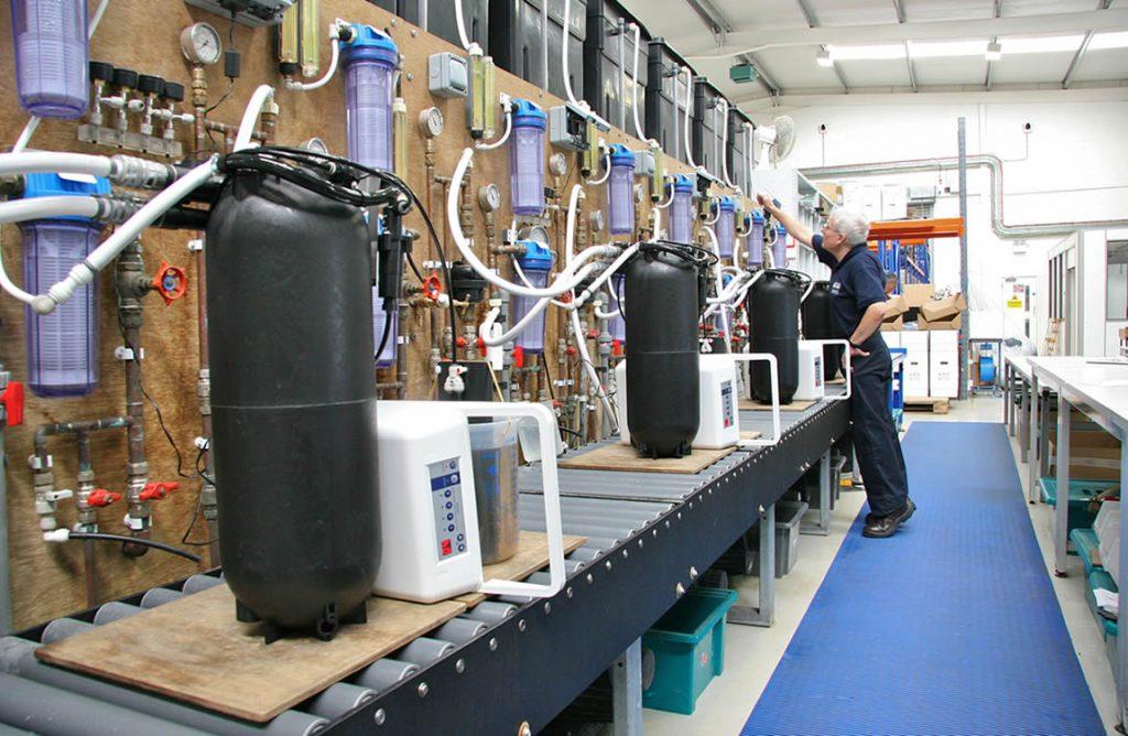 Waterontharders voor bedrijven en industrieën